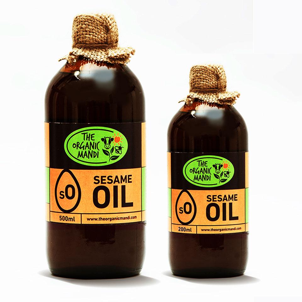 Sesame Oil | Organic Mandi