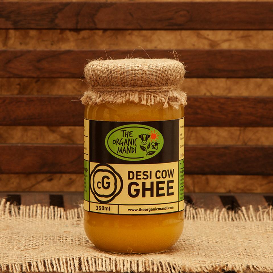 Desi Cow Ghee | Organic Mandi