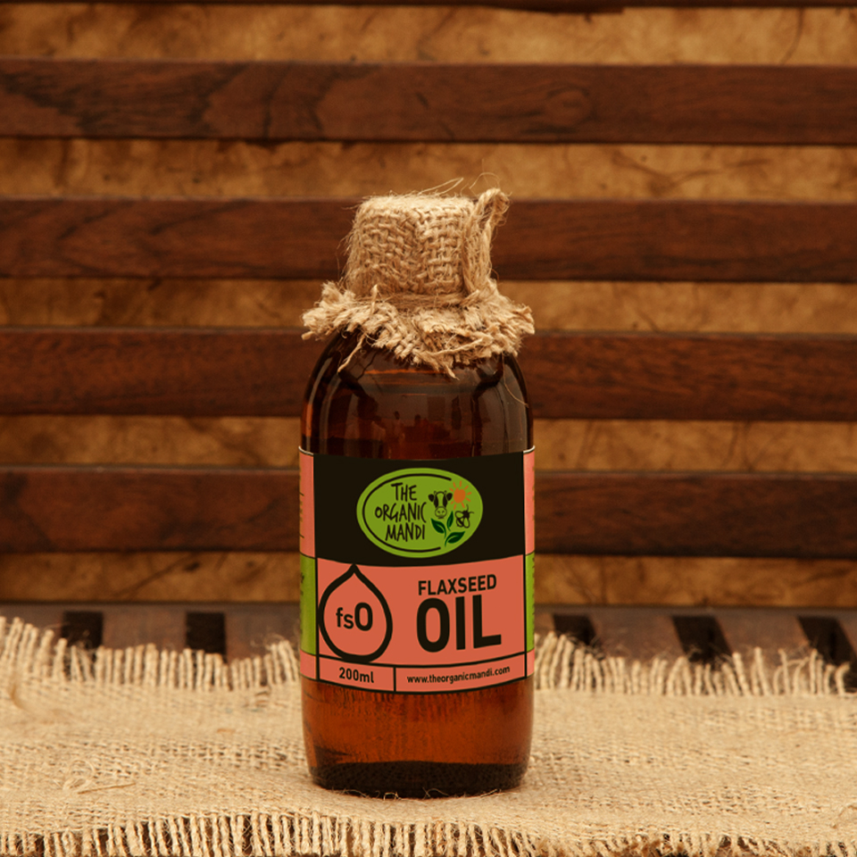 Flaxseed Oil | Organic Mandi