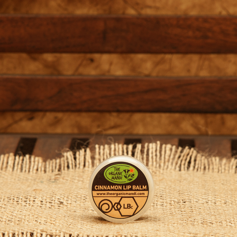 Lip Balm – Cinnamon | Organic Mandi