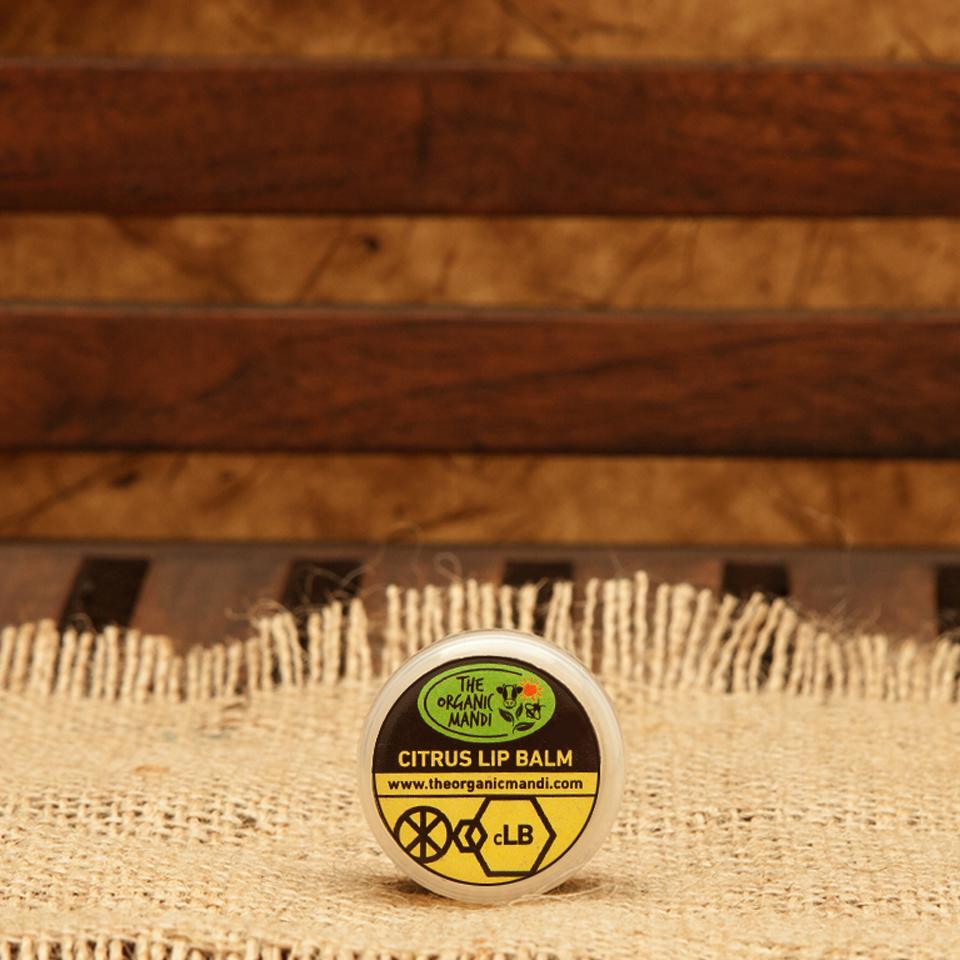 Lip Balm – Citrus | Organic Mandi