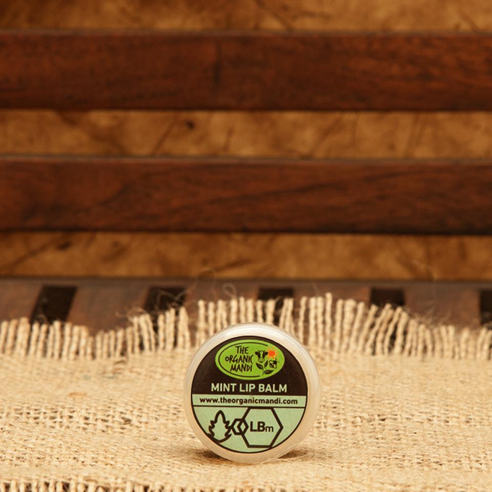 Lip Balm – Mint | Organic Mandi