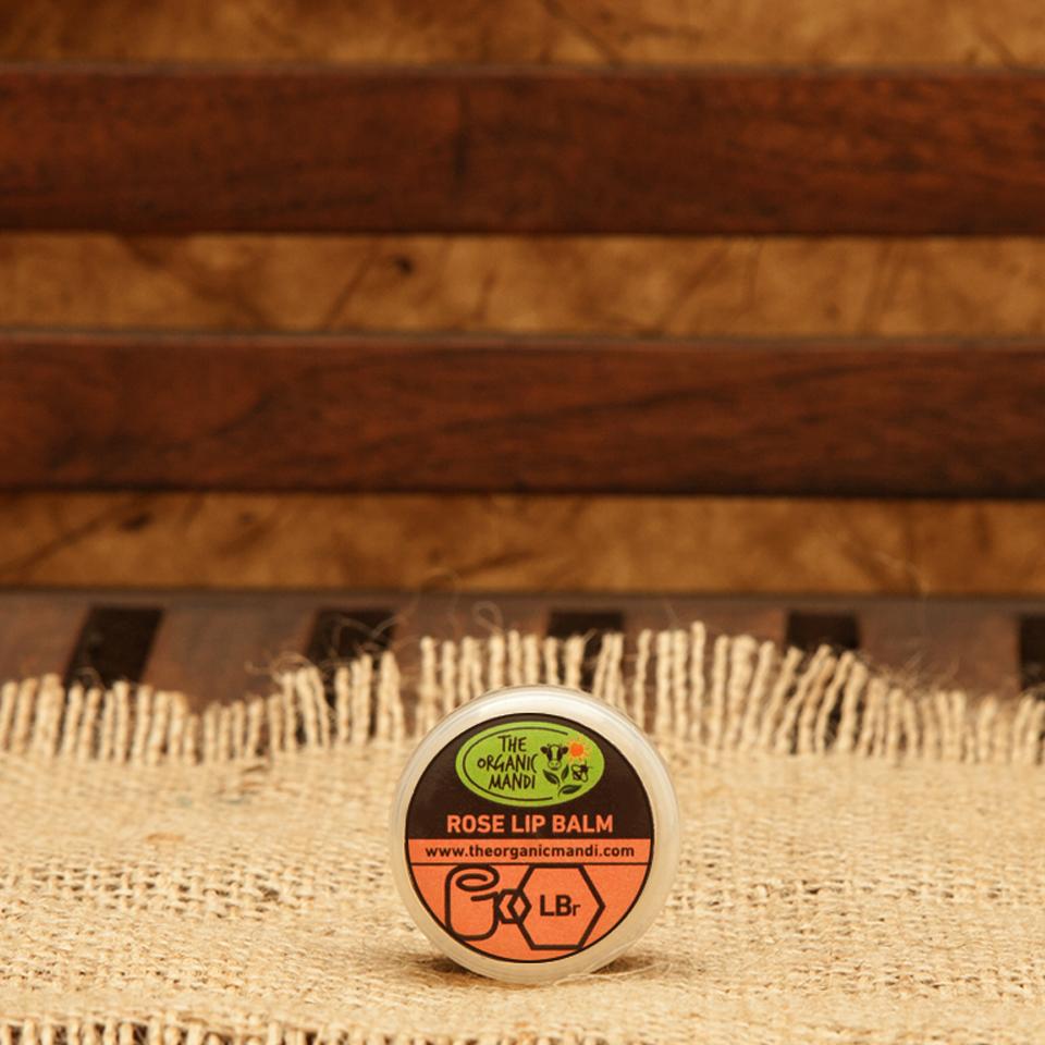 Lip Balm – Rose | Organic Mandi