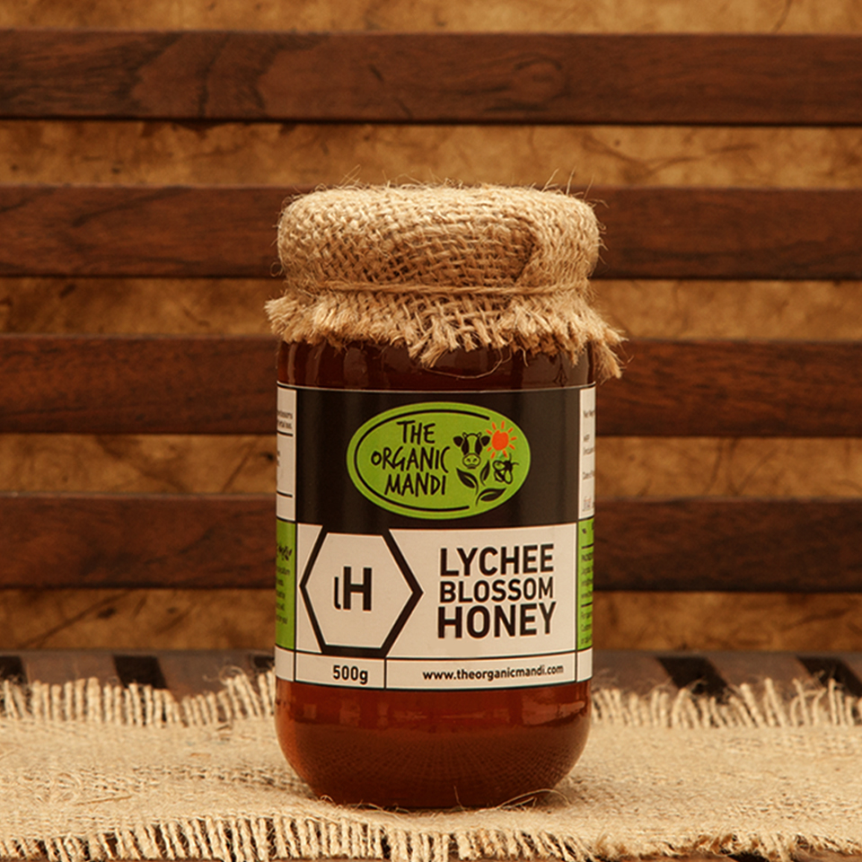 Lychee Blossom Honey | Organic Mandi