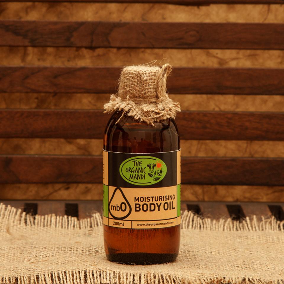 Moisturising Body Oil | Organic Mandi