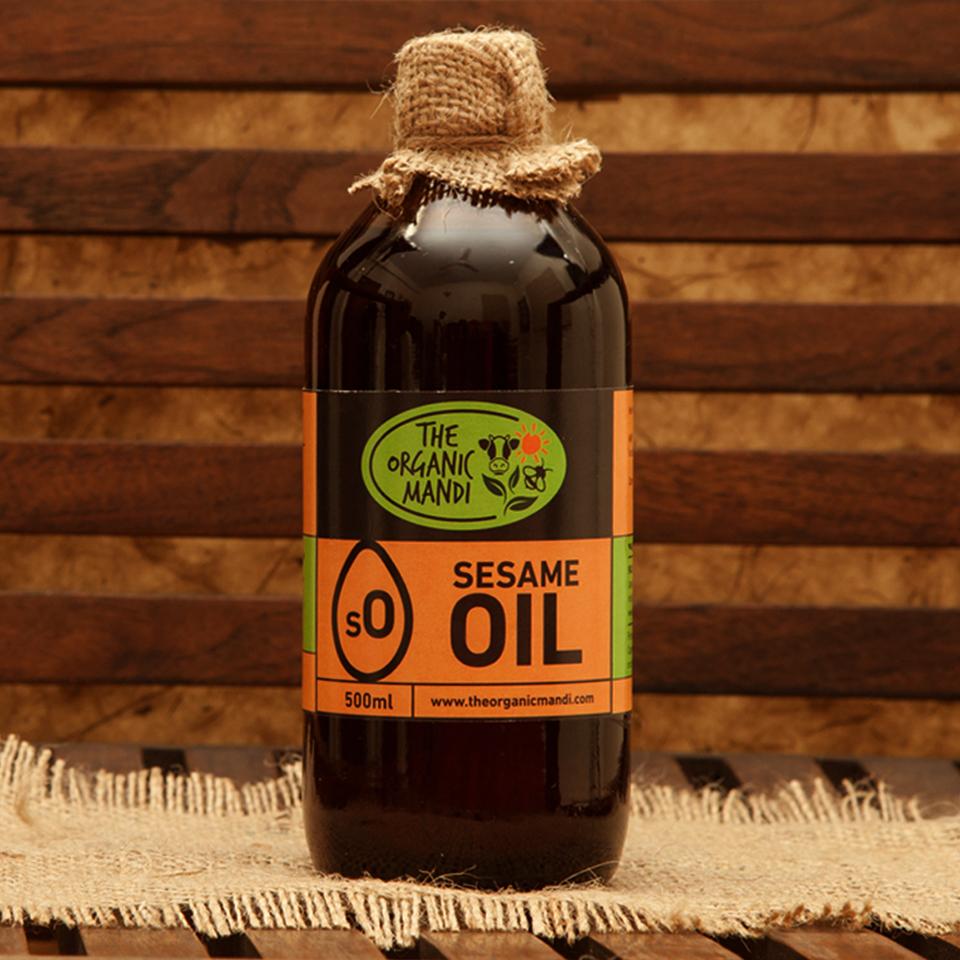Sesame Oil   Organic Mandi